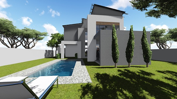 This Home was designed for a young couple building their dream home in the sought after estate in the south of Johannesburg, Eye of Africa.