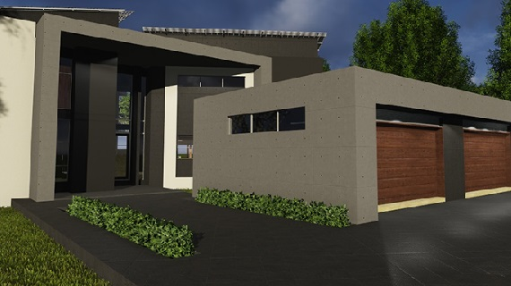 A young and tasteful couple from the Vaal appointed Riscali to share in their passion for building their current dream home, we were also extensively involved on site in SW5 Proper Vanderbijlpark. This was a large stand, re-zoned for four full title properties. This is the second of the four we designed